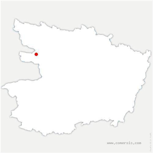 carte de localisation de Angrie