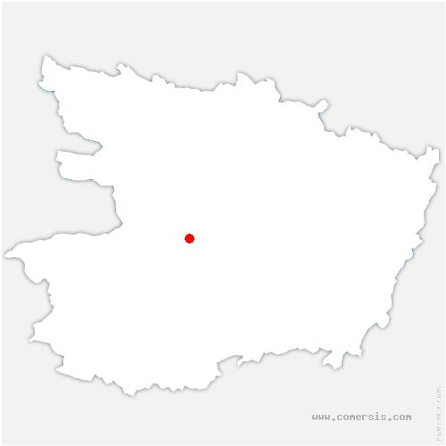 carte de localisation de Béhuard