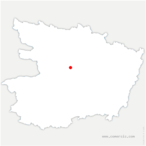 carte de localisation de Bouchemaine