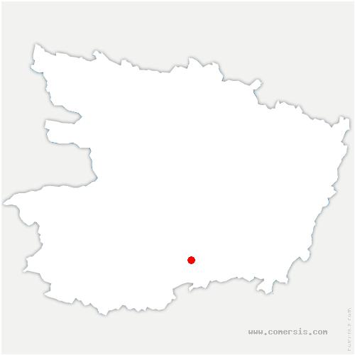 carte de localisation de Cernusson