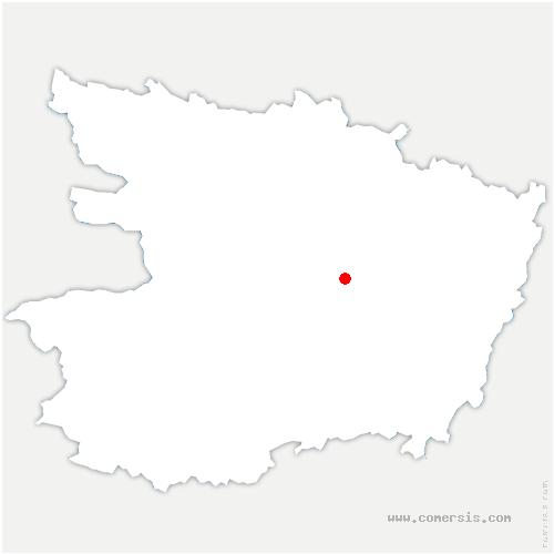 carte de localisation de Loire-Authion