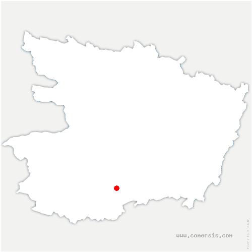 carte de localisation de Lys-Haut-Layon