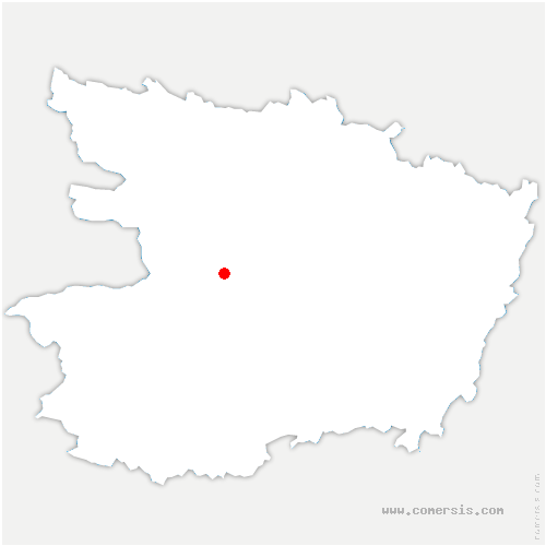 carte de localisation de Possonnière