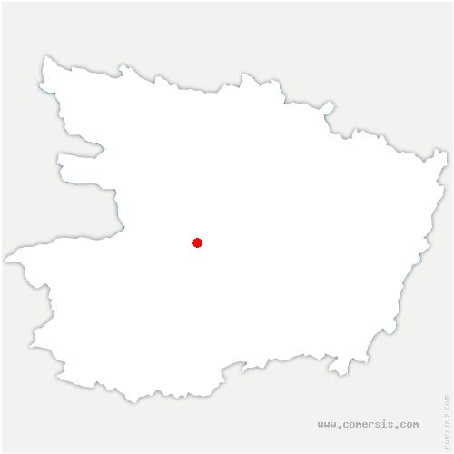 carte de localisation de Rochefort-sur-Loire