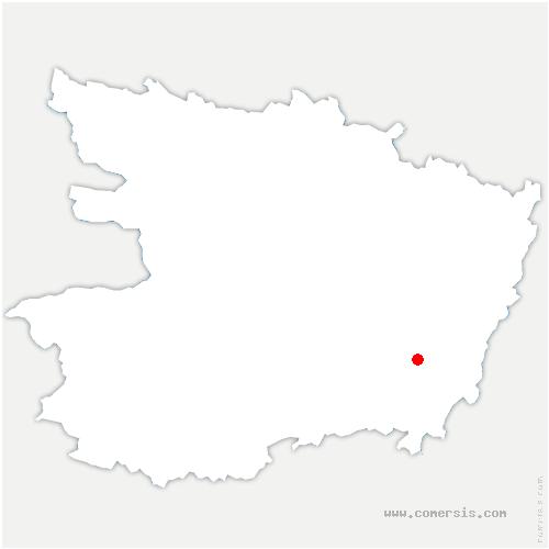 carte de localisation de Rou-Marson