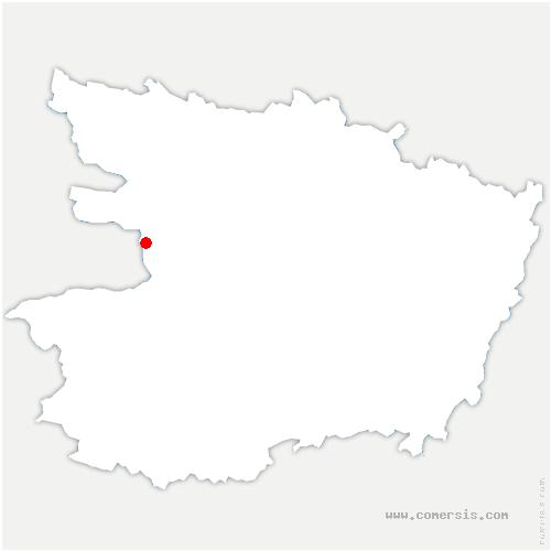 carte de localisation de Saint-Sigismond