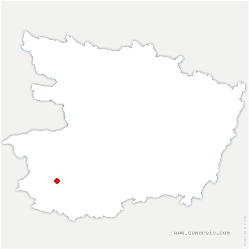 carte de localisation de Sèvremoine