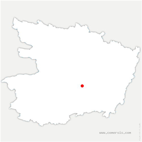 carte de localisation de Terranjou
