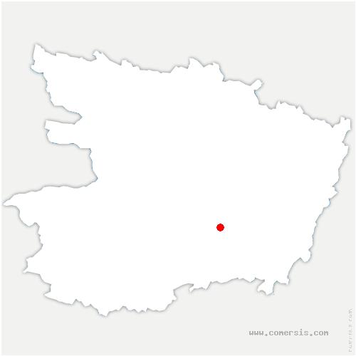 carte de localisation de Tuffalun