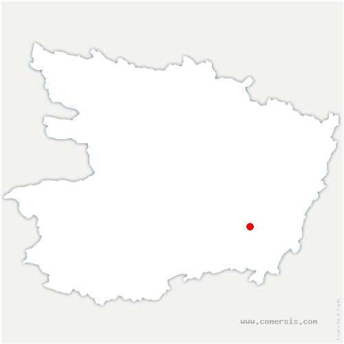 carte de localisation de Ulmes