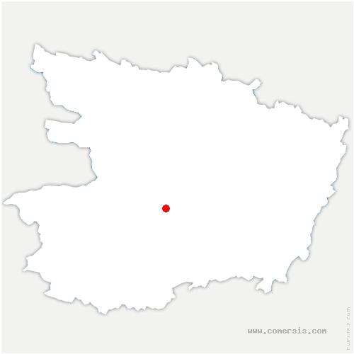 carte de localisation de Val-du-Layon