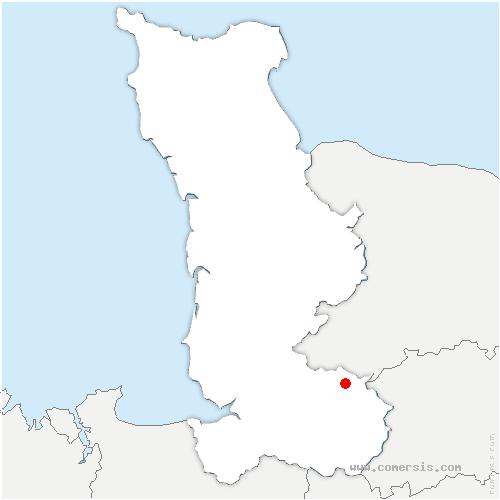carte de localisation de Beauficel