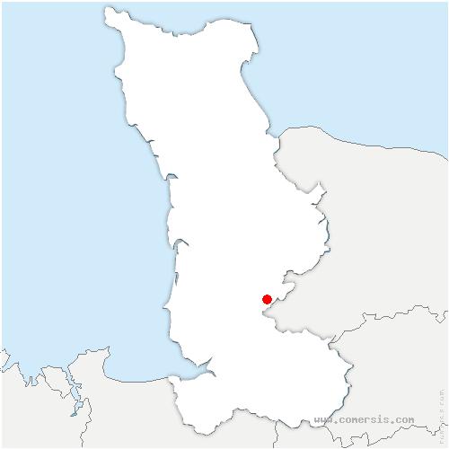 carte de localisation de Beslon