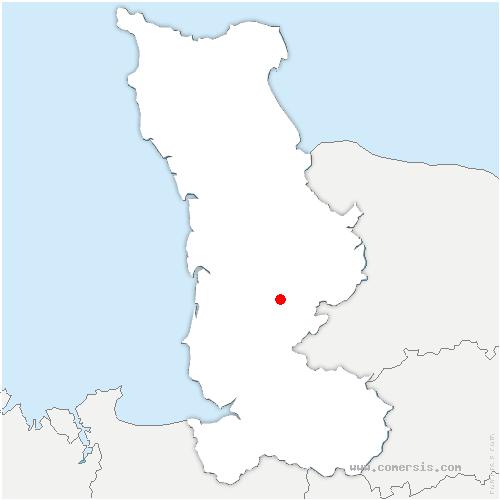 carte de localisation de Guislain
