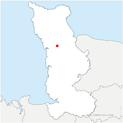 carte de localisation de Laulne