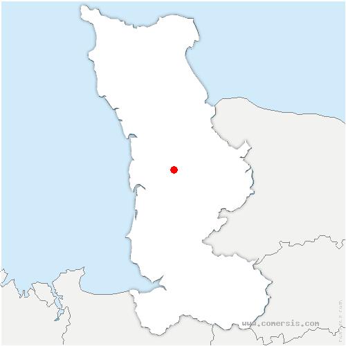 carte de localisation de Lorey