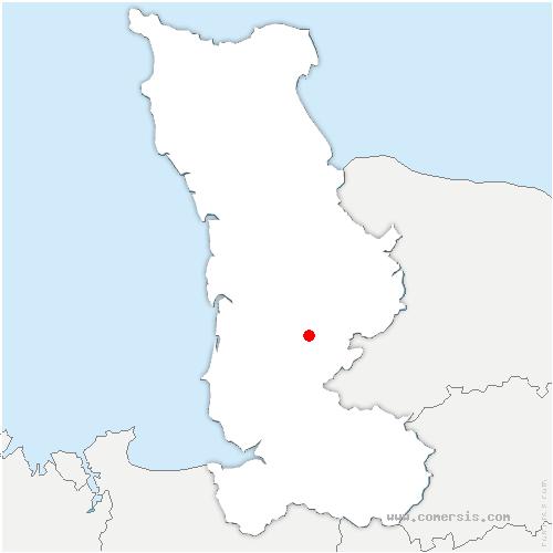 carte de localisation de Maupertuis