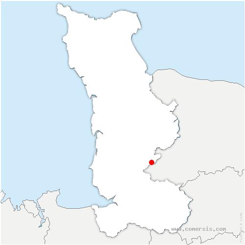 carte de localisation de Morigny