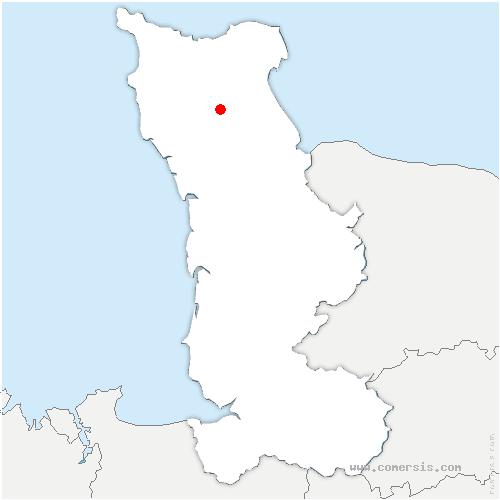 carte de localisation de Morville