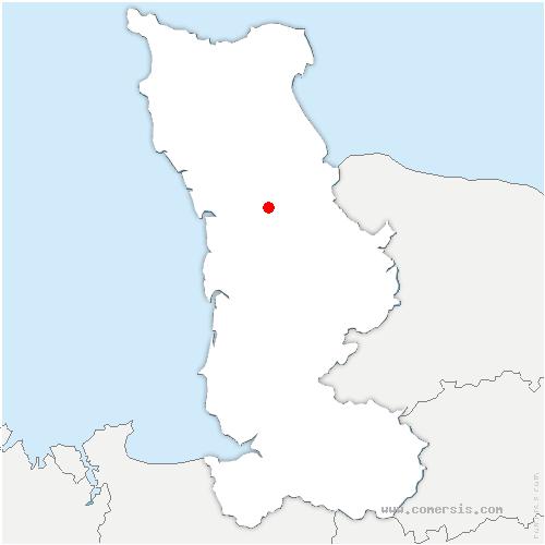 carte de localisation de Nay