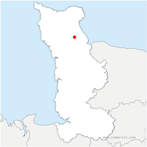 carte de localisation de Neuville-au-Plain