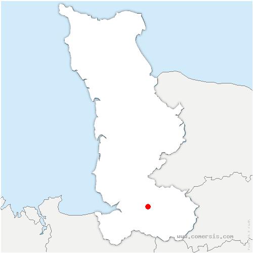 carte de localisation de Reffuveille