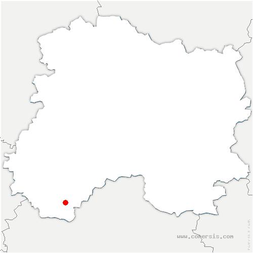 carte de localisation de Allemanche-Launay-et-Soyer