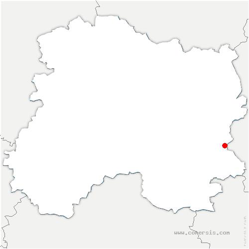 carte de localisation de Alliancelles
