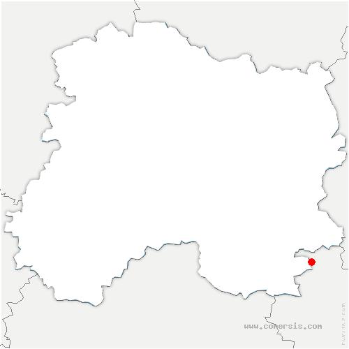carte de localisation de Ambrières