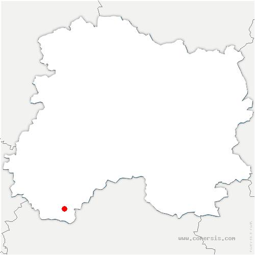 carte de localisation de Anglure