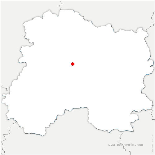 carte de localisation de Athis