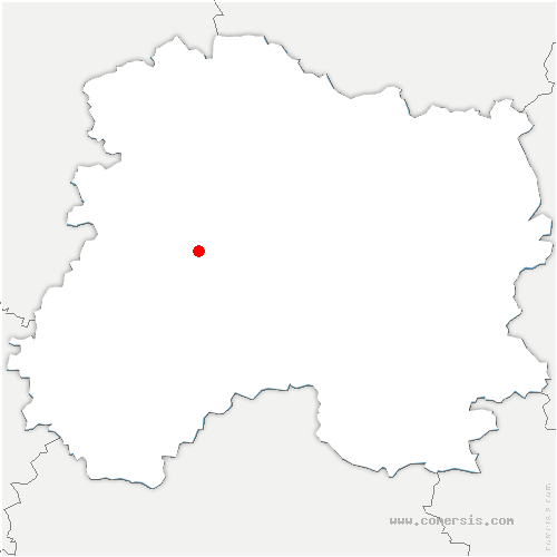 carte de localisation de Avize