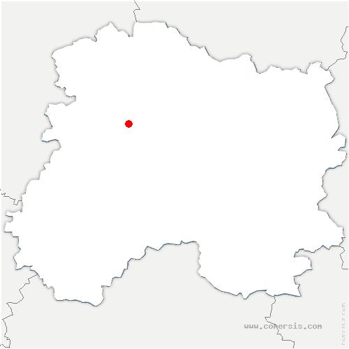 carte de localisation de Aÿ-Champagne