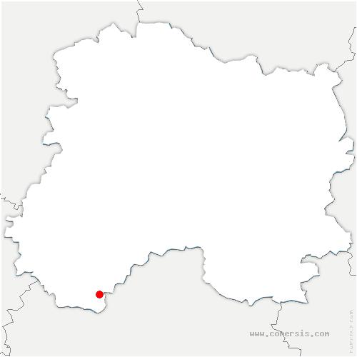 carte de localisation de Bagneux