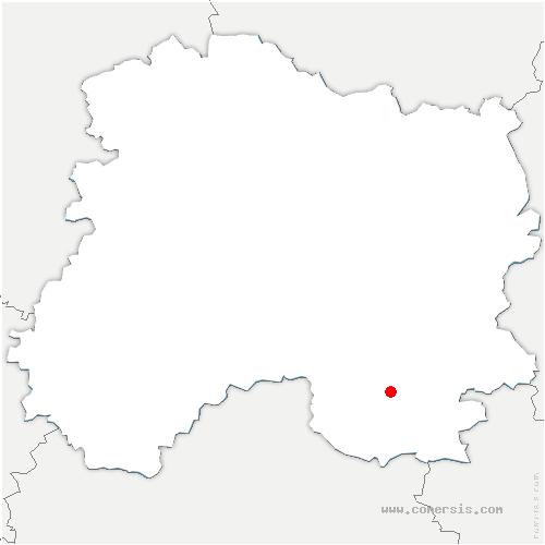 carte de localisation de Blaise-sous-Arzillières