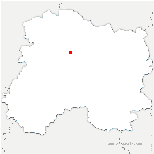 carte de localisation de Bouzy