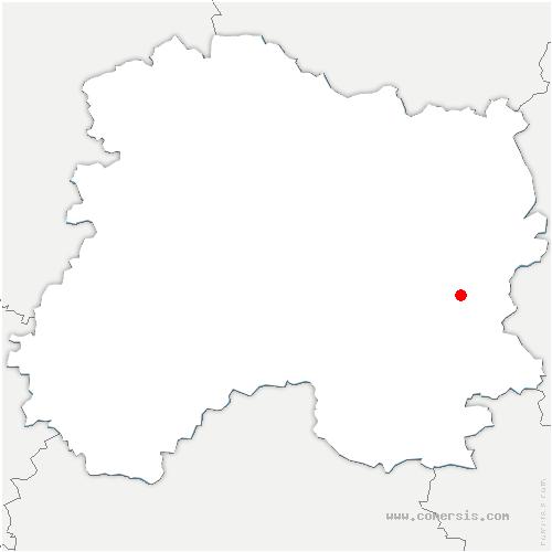 carte de localisation de Bussy-le-Repos