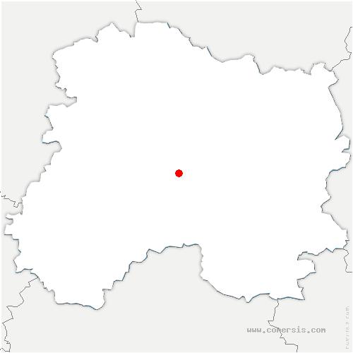 carte de localisation de Champigneul-Champagne