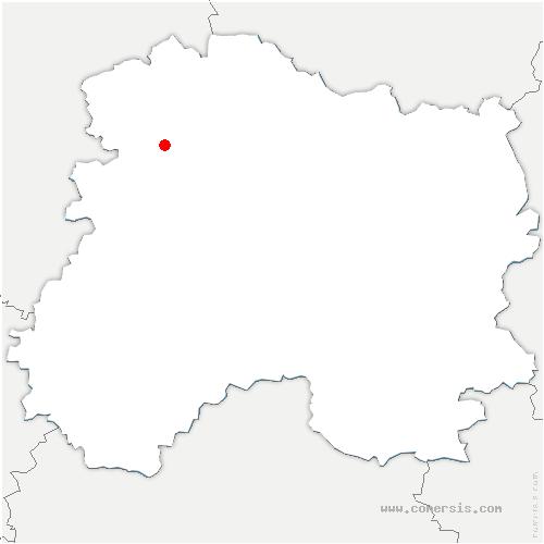 carte de localisation de Chaumuzy