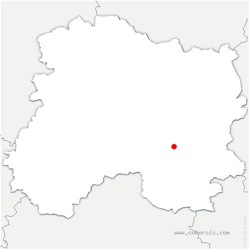 carte de localisation de Chaussée-sur-Marne