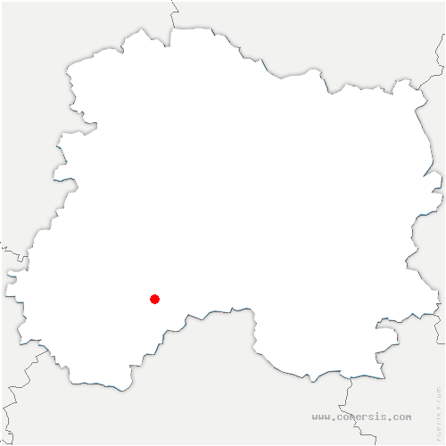 carte de localisation de Connantre
