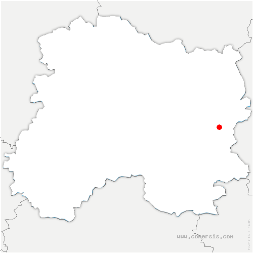 carte de localisation de Contault