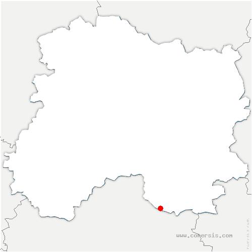 carte de localisation de Corbeil