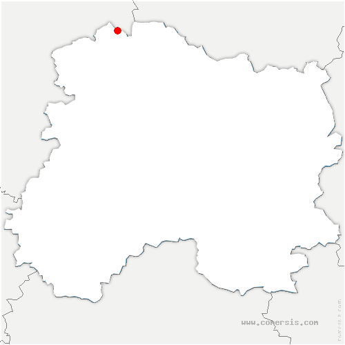 carte de localisation de Cormicy