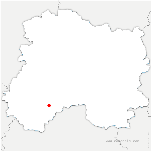 carte de localisation de Corroy