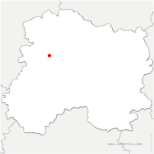 carte de localisation de Cumières