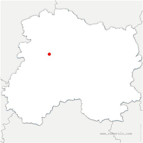 carte de localisation de Dizy