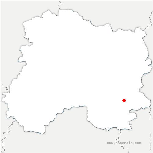 carte de localisation de Dompremy