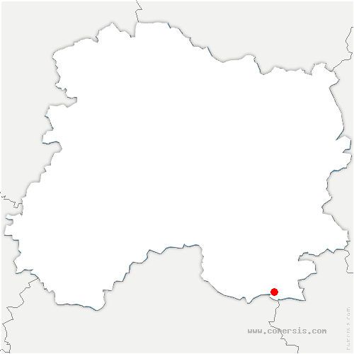 carte de localisation de Drosnay