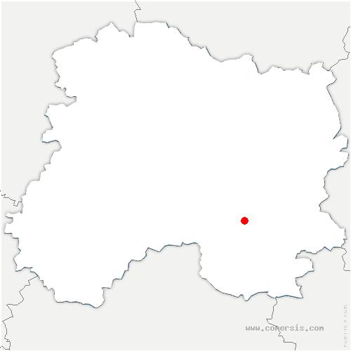 carte de localisation de Drouilly